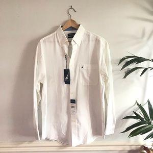 Nautica White Classic Fit  Size 16